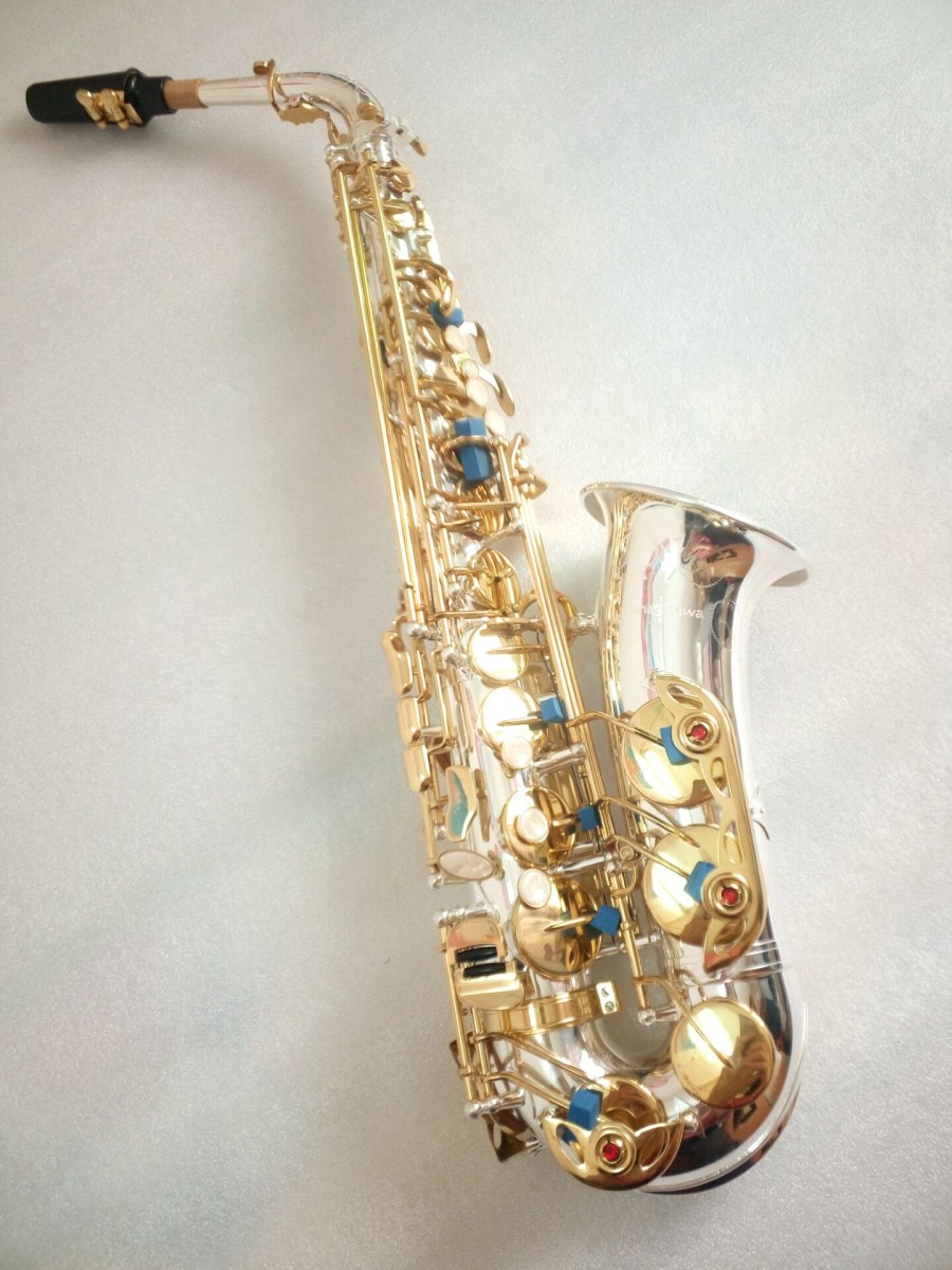 Japan Yanagisawa A-992 Alto Saxophone musical instruments Eb silver plated Alto Saxophone brass with Case Free shipping yanagisawa a 992 brand musical instruments alto saxophone eb tone phosphor bronze gold plated e flat sax with case mouthpiece