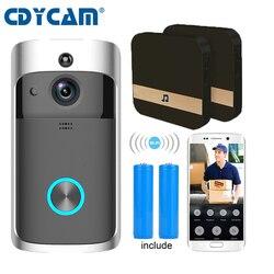Video DoorBell Battery WIFI Doorbell Camera IP Video Intercom Video Door Phone For Apartments IR Alarm Wireless Security Camera