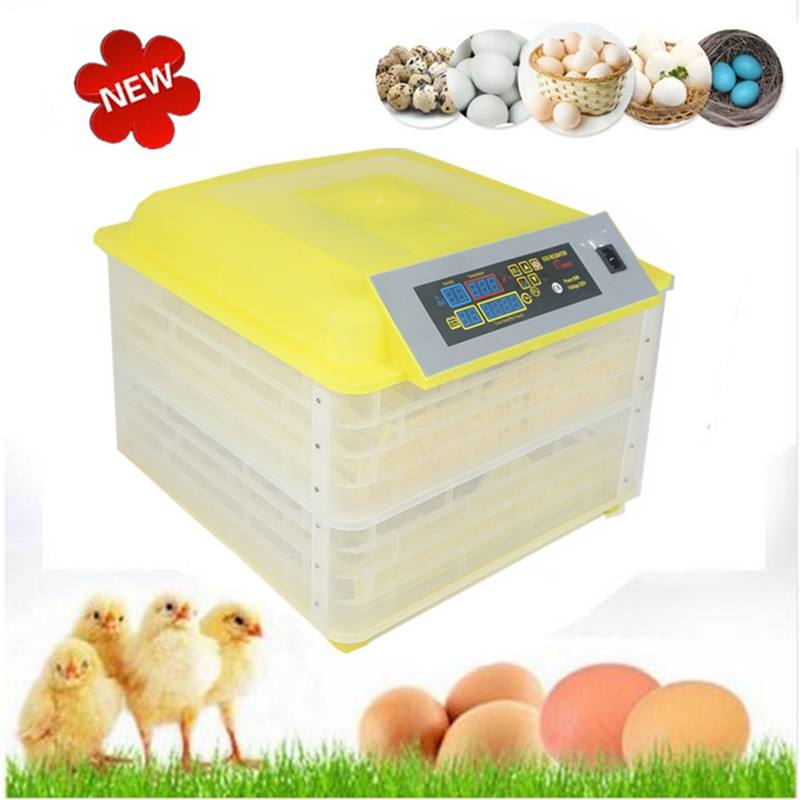 96-Eggs Intelligent Automatic Egg Incubator with Temperature Control Hatcher Hatching Selling Cheap Incubator цена 2017