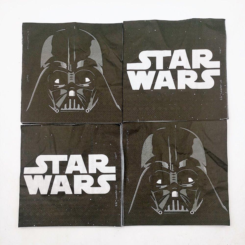 Салфетка из бумаги в стиле Звездных Войн для детей-1