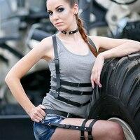 Sexy Body Bondage Harness Belt Set Strapon Harness Plus Size Belts For Women Full Body Harness Vintage Belt Garter Chain Harness