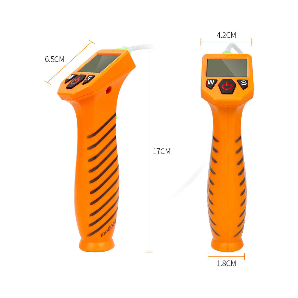 Leepesx Engine Oil Tester for Auto Check Oil Quality Detector with LED Display Gas Analyzer Car Testing Tools