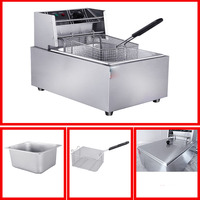 Free shipping ! Commercial Fryer For Fast Food deep Fryer / deep fryer Machine