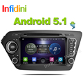 Quad Core Android 5.1 car dvd Kia rio k2 2010 2011 2012 2013 2014 2015 2016 GPS Navigation car radio android 2 din car dvd gps