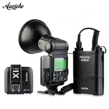 Godox WITSTRO AD360II-N 2.4G I-TTL HSS Outdoor Portable Flash Speedlite+ PB960 Battery Pack for Nikon