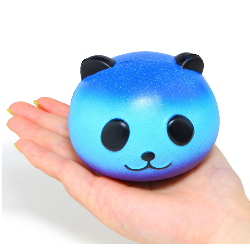 Squeeze-Toy Jumbo Squishy Panda Stress Reliever Colorful Galaxy Fun Gift Slow Rising img3