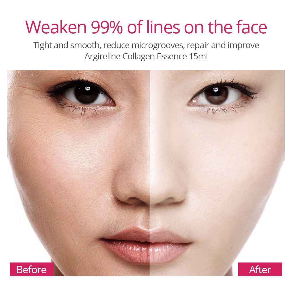 VIBRANT GLAMOUR Argireline Collagen Peptides Face Serum Cream Anti-Aging Wrinkle Lift Firming Whitening Moisturizing Skin Care 3
