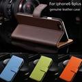 Clássico saco do telefone móvel de couro case para iphone 6 s 6 s 7 iphone capa bag para iphone 6 plus 6 s plus 7 pluscoque cartão Slot