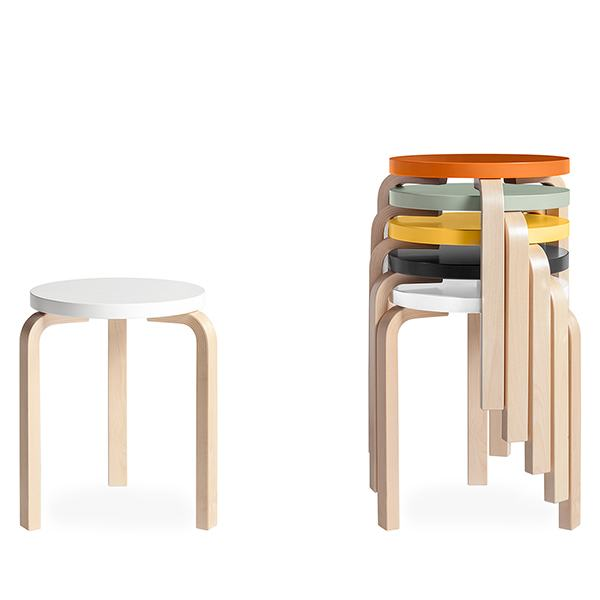 CH146 Fashion 10 colors Restaurant stool wooden Stool  Living room stool three feet alvar aalto stool 60 free shipping ...