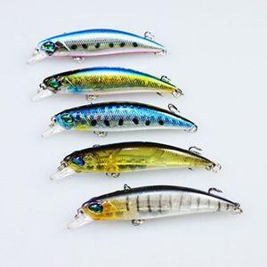 Image 4 - 2016 新 5 個トップ品質シンク塩水フックベイトミノーペスカ Wobblers 魚の餌鯉釣具 4 グラム 65 ミリメートル leurre dur