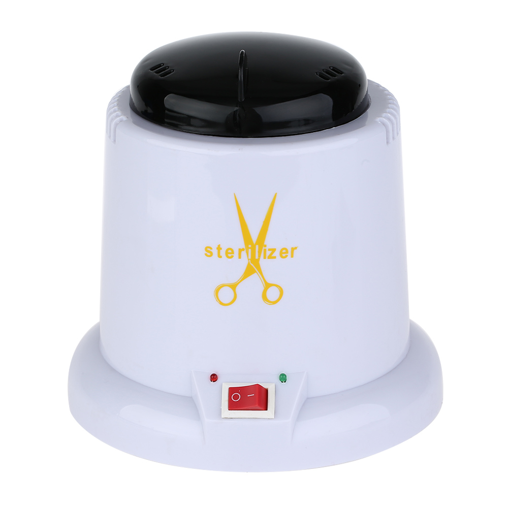 Image 4 - Nail Art Steam Autoclave Scissor Manicure Sterilizer Machine Disinfection Box with 150g Disinfection Tools Glass Bead-in Nail Art Equipment from Beauty & Health