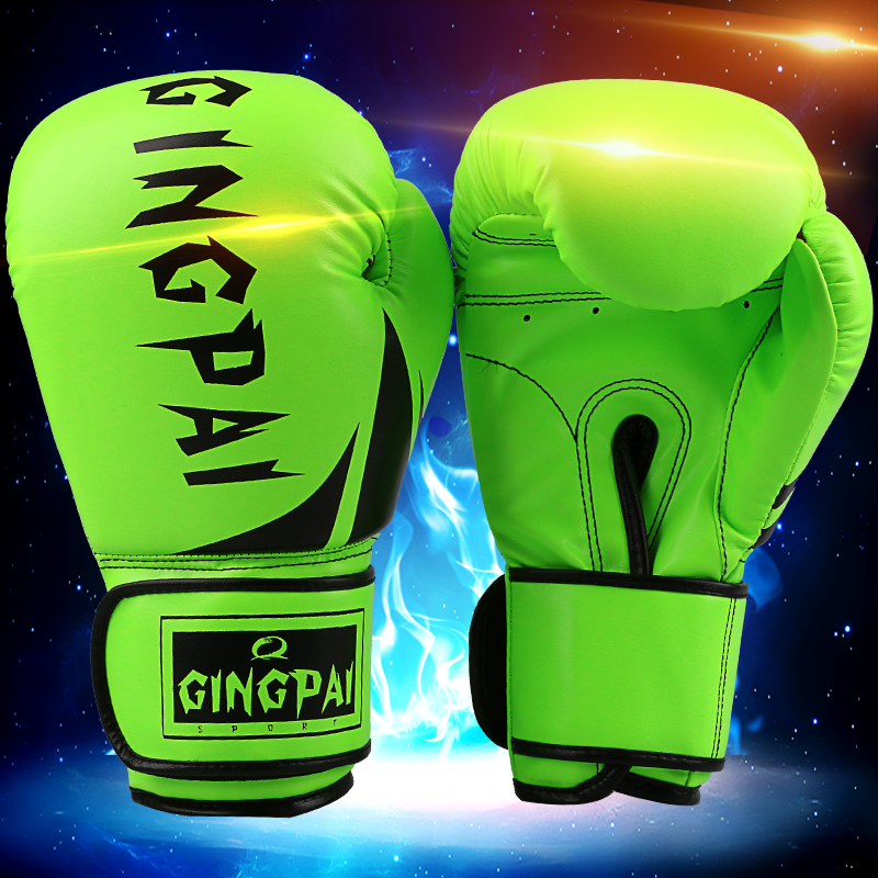 PRETORIAN MUAY THAI TWINS PU LEATHER BOXING GLOVES ADULT MEN WOMEN TRAINING MMA SPARRING BOX GLOVES 6 COLORS GUANTES DE
