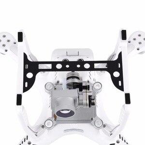 Image 5 - מצלמה סוגר בעל הר עדשת שמש הוד סיבי פחמן Gimbal משמר מגן עבור DJI פנטום 3 Drone חילוף חלקי