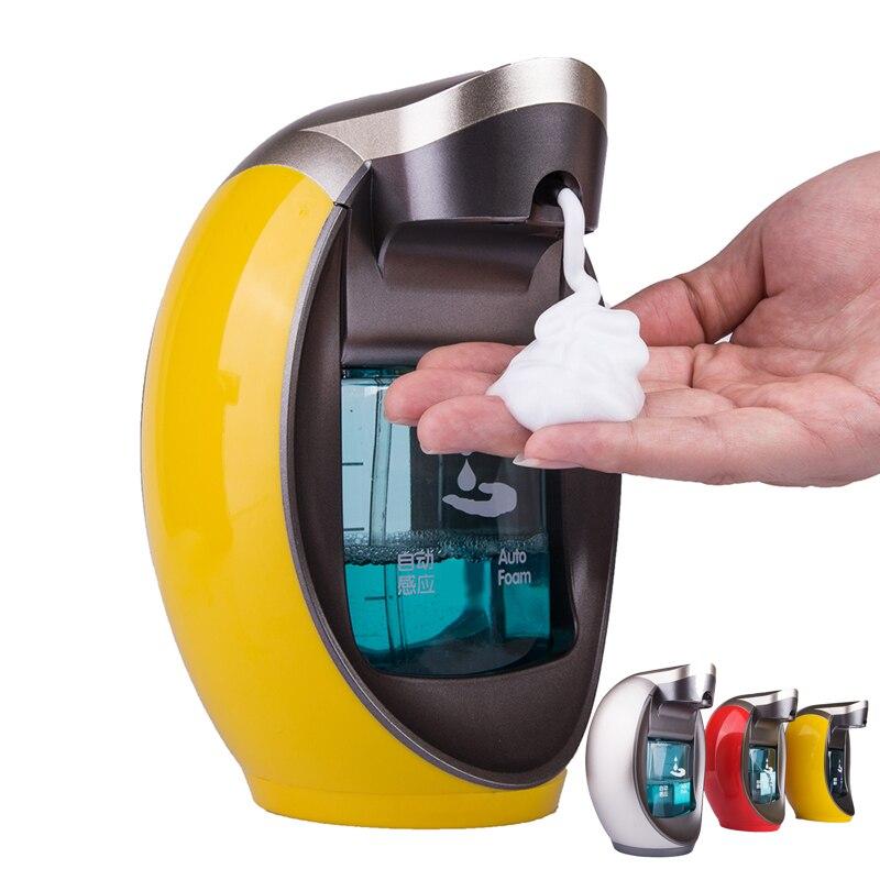 Distributeur automatique de savon en mousse désinfectant Intelligent pour les mains distributeur automatique de savon distributeur mural haut de gamme distributeurs de savon 400 ml - 2