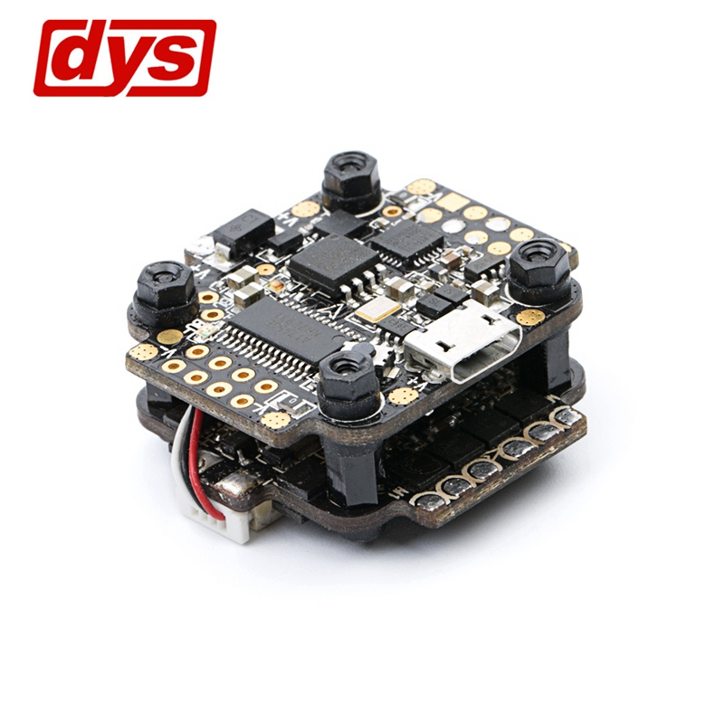 DYS F4 Flight Controller + F18A BLHeli_S 4 In 1 ESC 2-4S 20x20mm Integrated 5V 2A BEC Current Sensor RC Racing Racer Quadcopter emax f4 magnum tower parts bullet 30a 4 in 1 blheli s esc 2 4s built in current sensor for rc multicopter models motor frame