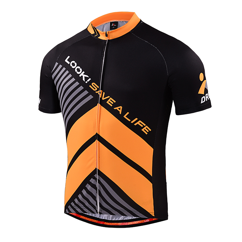52e9b31d4 DREAMSPORT Custom Cycling Clothing Quick Dry Sublimation Print Cycling  Jersey 100% Polyester UV-Proof Cycling Shirt Ciclista