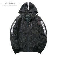 JESSIE VAN Autumn Men S Camouflage Coat Mens Hoodies Casual Jacket Brand Clothing Mens Windbreaker Coats
