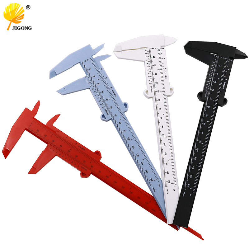 DIY Tool Woodworking Metalworking Plumbing Model Making 80mm 150mm 0.5 Vernier Caliper Aperture Depth Diameter Measure Tool