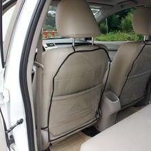 Car Seat Back Cover Protector Dustproof Children Kick Mat Waterproof for Honda Accord Chevrolet Peugeot 308 kia Tiguan(China)