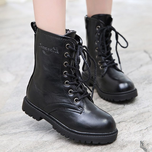 Mudipanda 3 boys 4 Martin boots 5 girls wear 6 small cotton boots 7 boys 8  boots 9 single shoes 11 winter shoes 12 years old 104936931c98
