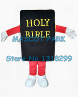 mascot the holy bible bood mascot costume adult size cartoon book theme anime cosplay costumes holiday charity activity dresses