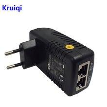 Kruiqi poe сплиттер инжектор 48 В 05a настенный адаптер ethernet