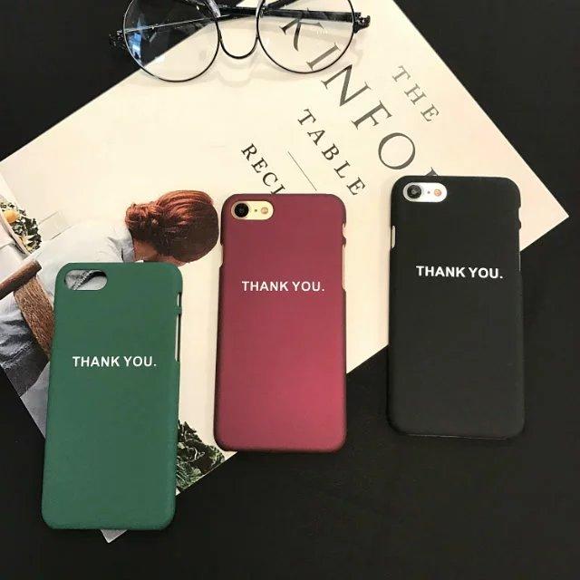Мода слово благодарственное письмо чехол для iPhone 5 s Чехол для iPhone 5 <font><b>5S</b></font> 6 6 S плюс 7 P жесткий Телефонные чехлы задняя крышка Fundas Капа Coque