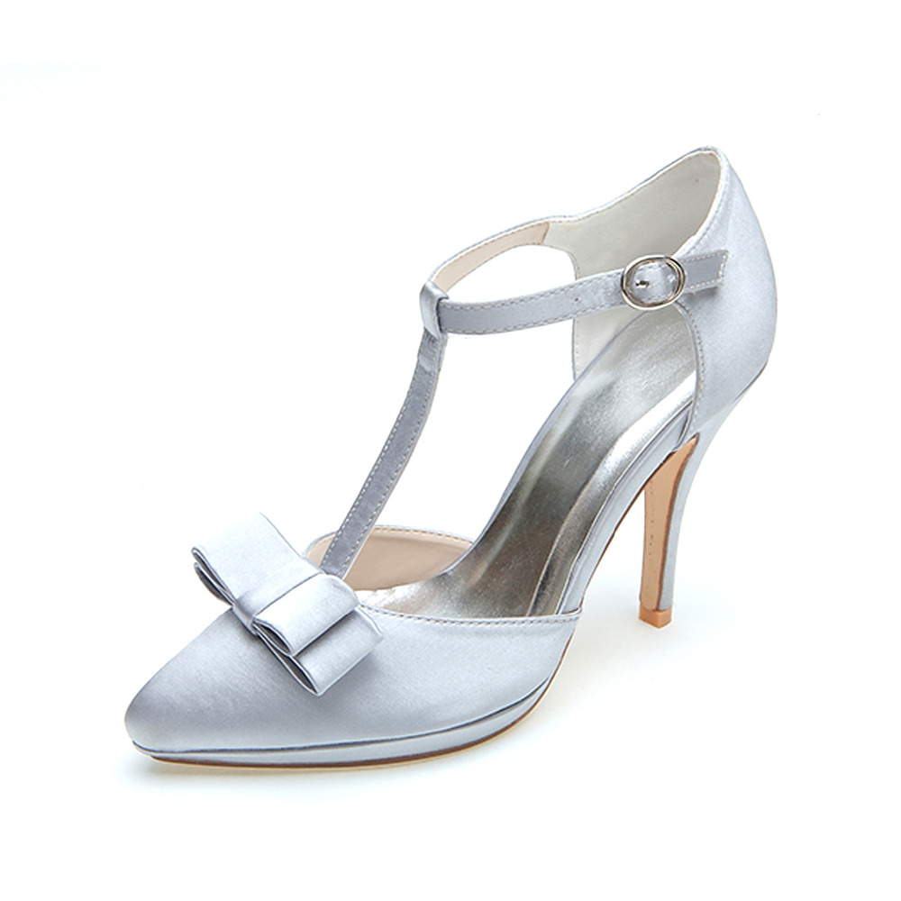 Online Get Cheap Grey Satin Heels -Aliexpress.com | Alibaba Group