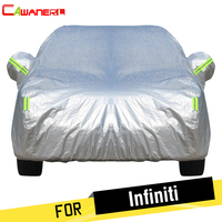 Cawanerl For Infiniti M Series JX35 QX50 QX60 QX70 Thicken Cotton Car Cover Waterproof Sun Snow Rain Hail Dust Protection Cover