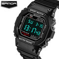 SANDA LED Digital Watch Men Top Brand Luxury Famous Sport Watches Male Clock Electronic Digital-watch Hodinky Relogio Masculino