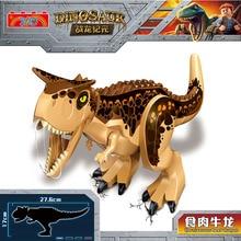 Lele L030 Jurassic World Park Building Blocks Dinosaur Figures Bricks Tyrannosaurus Indominus Rex Indoraptor