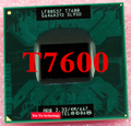 Пожизненная гарантия Core 2 Duo T7600 2.33 ГГц 4 м 667 ноутбук процессоры ноутбук процессора PGA478 официальная версия компьютера 945 материнская плата