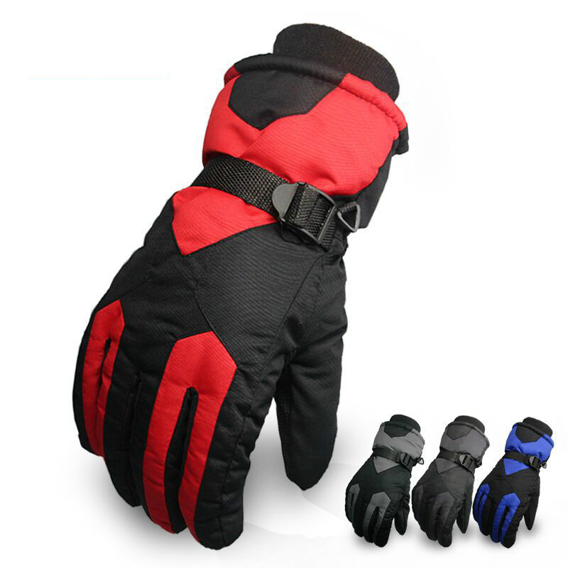 Waterproof Windproof skiing and snowboarding Gloves for men and women Winter Outdoor Sports Cycling Motorcycle Warm Gloves