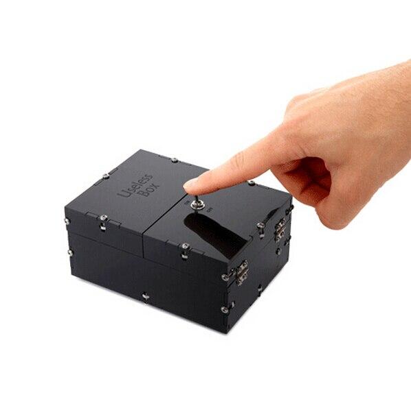 Горячие бесполезный Box забавная игрушка Игрушки-приколы Leave Me Alone Бесплатная доставка Черный DIY и готовый комплект доступны