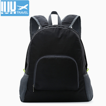купить 2018 Men Travel Backpack Leisure Folding Backpacks For High School Bags Nylon Waterproof  High Quality Women Rucksack Wholesale дешево