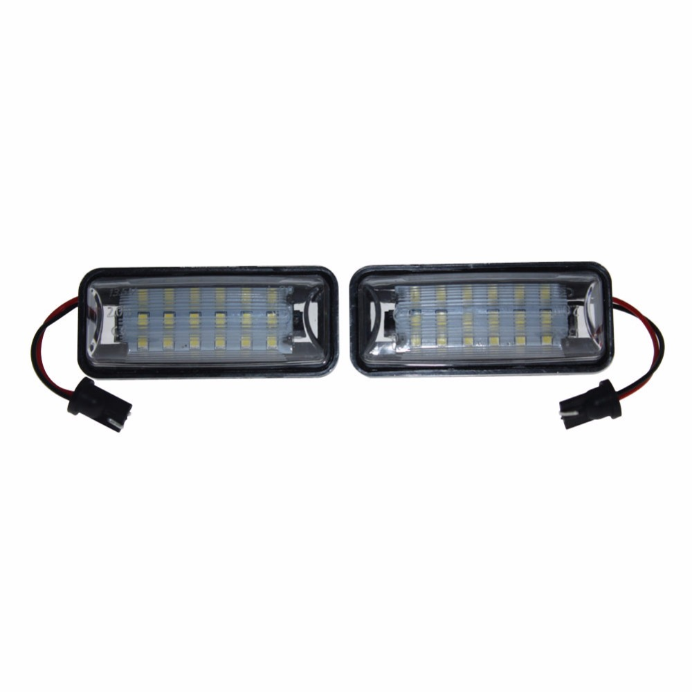 Car LED License Number Plate Light Auto Lamps Source for Subaru Forester Impreza Legacy BRZ WRX XV Crosstrek TOYOTA FT86 GT86 auto vehicles white led number license plate light lamps for opel insignia sports tourer mokka for buick for cadillac for gmc