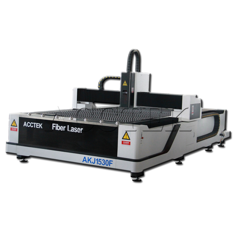 500w 1kw 2kw 3kw IPG/Raycus Laser Source 1500*300mm Fiber Laser Cutting Machine For Metal With Automatic Laser Head