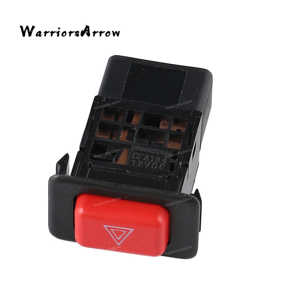 Hazard Warning Lights Switch Push Button For <font><b>Mitsubishi</b></font> <font><b>Pajero</b></font> Shogun MK2 1991 1992 1993 1994 <font><b>1995</b></font> 1996 1997 1998 1999 MB652291 image