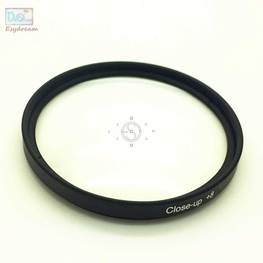 37 46 49 52 55 58 62 67 72 77mm Dekat up + 8 Lens Filter Untuk Kamera Canon Nikon Pentax Lensa Makro Close-up x8