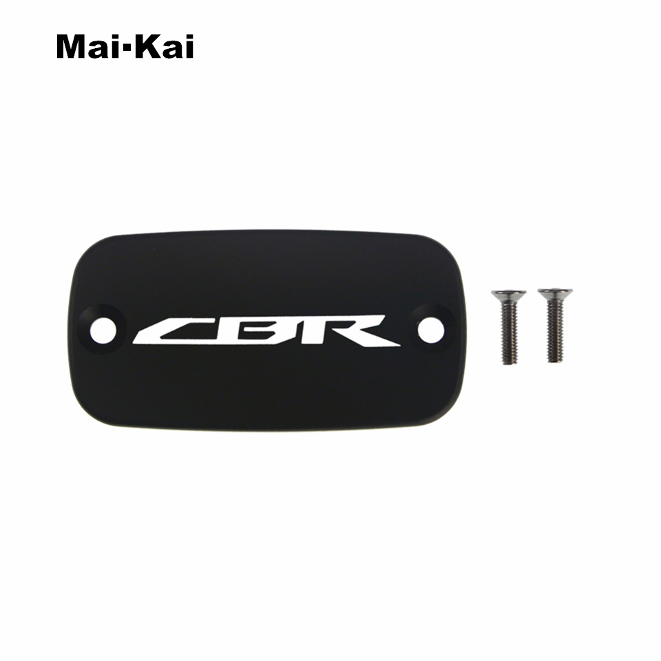 MAIKAI For HONDA CBR600F 2000-2014 CBR650F 2014-2018 CNC Aluminum Motorcycle Brake Fluid Fuel Tank Cap Cover