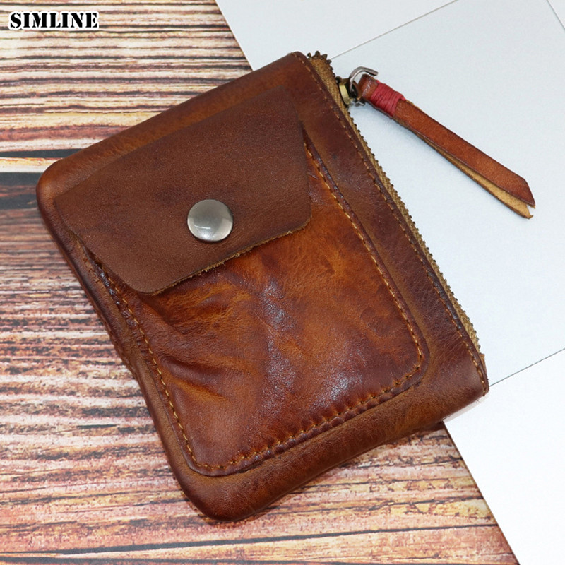 100/% REAL GENUINE LEATHER CASE POCKET HAIR COMB CASE POUCH HANDMADE