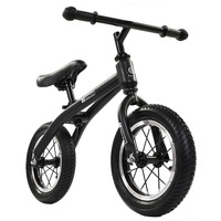 12 Inch Balance Bike Ultralight Pedal less Balance Bike Steel Kids Balance Bicycle for 2~6 Years Old Children Complete Bike