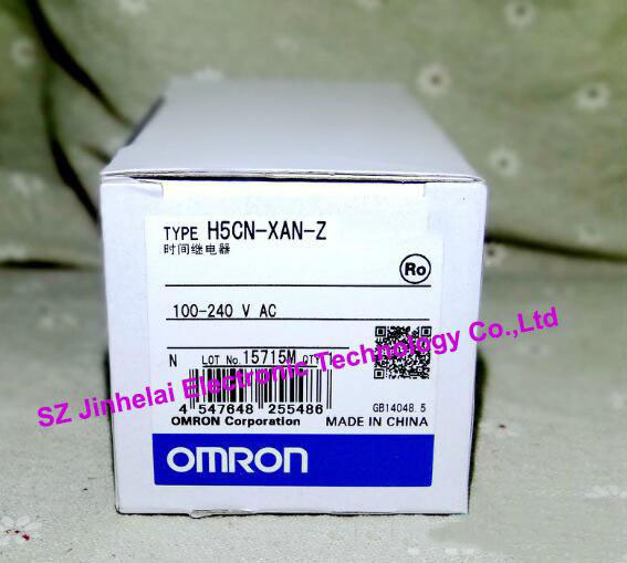 H5CN-XAN-Z   New and original OMRON  TIME RELAY   100-240VAC time relay h5cn xbn z