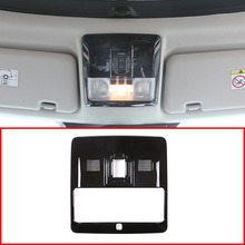 Черный ABS автомобиль передний Чтение свет Крышка Накладка для Land Rover Discovery 4 2016-2010 автомобильные аксессуары