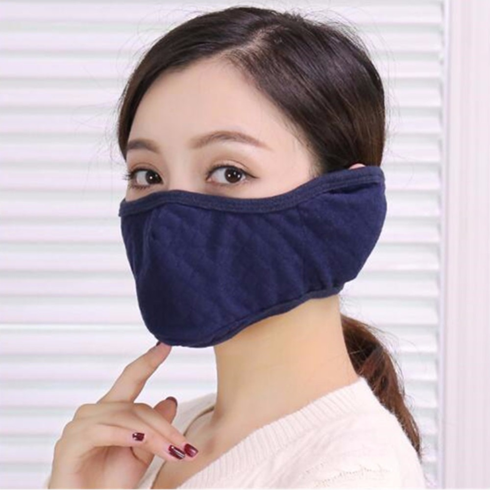 Earmuff Cloth Cold With Half Masks Face Mask Proof Mouth Winter