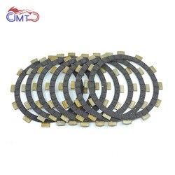For Yamaha TTR250 1999-2006 YZ125 1991-1992 WR250R WR250X 2011-2017 2016 2015 2014 Clutch Friction Disc Plate Kit 7P WR250 R X