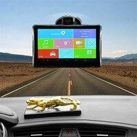5 Inch HD 1080 P רכב ניווט GPS מקליט נתונים Pianet רכב נוסע לילה נהיגה חכם FM AV-IN Bluetooth WIFI 8 גרם ראיית