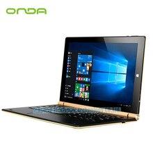 "Оригинал onda obook 10 pro obook10 pro windows10 tablet pc 10.1 ""ips 1920*1200 intelcherry-trail atom x7-z8700 4 г ram 64 г rom"