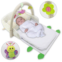 Multifunctional Baby Crib Portable Foldable Baby Bed Travel Infant Cradle for Toddler BM88
