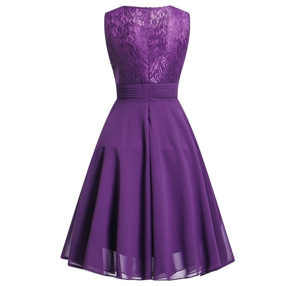 OML522L#Chiffon and Lace navy blue Short Bridesmaid Dresses Weddiong Party Dress 2018 Prom Gown Women Fashion Wholesale Clothing 16